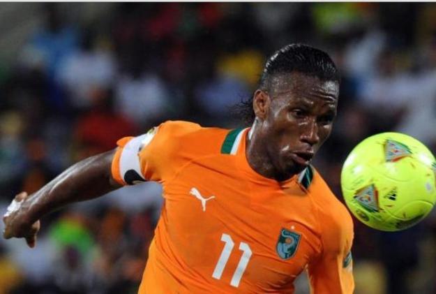 Drogba - Costa do Marfim (AFP)