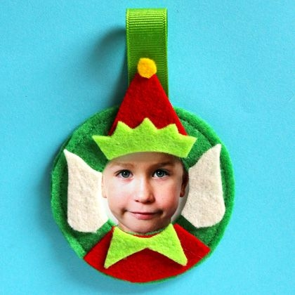 Elf Photo Ornament Pictures Photos And Images For