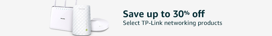Up to 30% off select TP-Link networking products