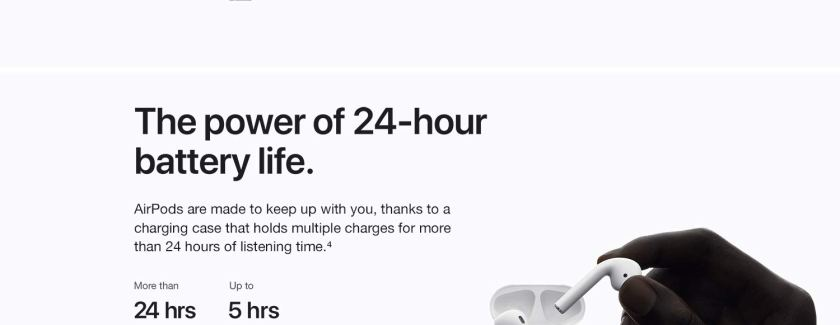 The power of 24-hour battery life.