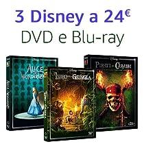 Offerta Classici Live Action: 3 titoli = 24 €