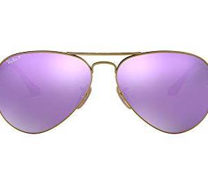 Ray-Ban Rb3025 Classic Mirrored Aviator Sunglasses 21