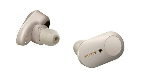 Fones de Ouvido Bluetooth Sem Fio Sony WF-1000XM3SMUC com Cancelamento de Ruído (Noise Cancelling), em breve com controle de voz via Alexa, Dourado