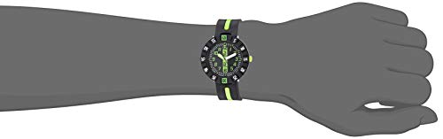 Flik Flak Kids' Quartz Plastic Strap, Black, 16 Casual Watch (Model: ZFCSP032)