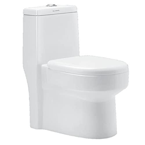 Belmonte Ceramic One Piece Western Toilet/Commode/Water Closet Dune S Trap - White