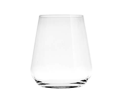 Bormioli Rocco Inalto Confezione 6 Bicchieri Acqua, Vetro, Trasparente, 34 Cl, 0.34 Litri