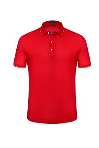 Camiseta deportiva transpirable para hombre de manga corta para...