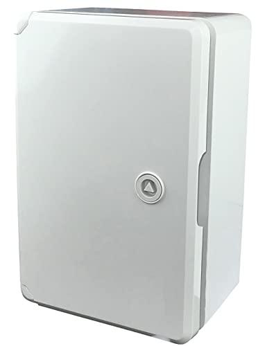 AERZETIX - Armadio/quadro elettrico a parete 300x130x200mm - fissaggio a parete - scatola di distribuzione/protezione - indice di tenuta IP65 - C48630
