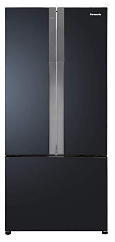 Panasonic 551 L with Inverter Multi-Door Refrigerator (NR-CY550QKXZ, Sparkling Black Steel)