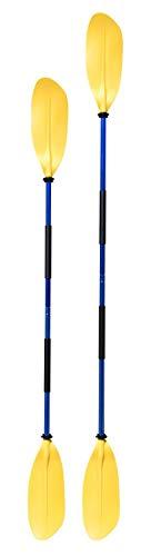 Navyline asymmetrisches Kajak Paddel 2-teilig, Farbe:gelb, Länge:210cm