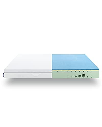 EMMA One Schaum Matratze - 160x200x18 cm, Liegegefühl Hart - ergonomische 7 Zonen Matratze - atmungsaktiv - 100 Nächte Probeschlafen - Öko-Tex Zertifiziert - Entwickelt in Deutschland