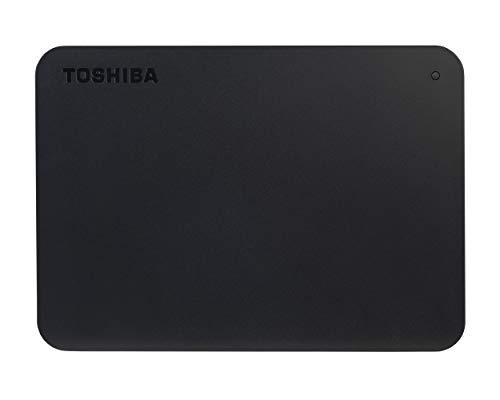 TOSHIBA HDTB420EK3AA, Canvio Basics, Disco rigido Esterno Portatile, USB 3.0, Nero, 2 TB