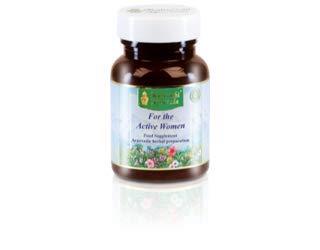 Maharishi Ayurveda Für die aktive Frau, ayurvedisches Nahrungsergänzungsmittel, 60 Tabletten / 30 g
