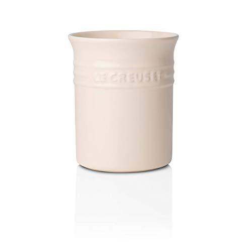 Le Creuset contenitore per Utensili da Cucina, 1,1 Litri, Gres, Crema