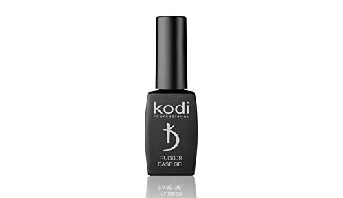 Rubber Base Gel | Kodi Professional |12 ml (0.42 oz) | Gel LED/UV Nail Polish Coat Soak | Original Products| for Long Lasting Nails Layer| Easy to Use, Non-Toxic & Scentless