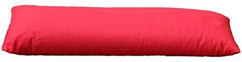 Yoga Bolster Con bio Alforfón aprox. 60x 22rojo