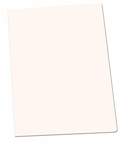 Elba Gio  Confezione da 50 cartelline semplici, formato A4, colore: bianco