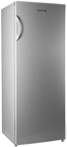 PremierTech PT-FR153S Congelatore Verticale Freezer 153 litri -24gradi A++ 4**** Stelle 3 Cassetti e 2 Sportelli (Silver)