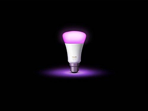 21KhZJodjSL Bon Philips Hue !  Philips Hue Pack de 2 ampoules connectées White & Color B22 - Fonctionne avec Alexa