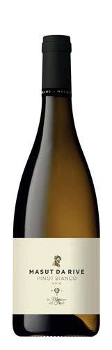 Confezione da 6 Bottiglie Vino Pinot Bianco Isonzo 2017 Mast da Rive-cz