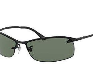Ray-Ban RB3179 Metal Rectangular Sunglasses 23