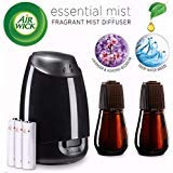 Air Wick Essential Mist, Essential Oil Diffuser, (Diffuser + 2 Refills), Lavender & Almond Blossom & Fresh Water Breeze, Air Freshener