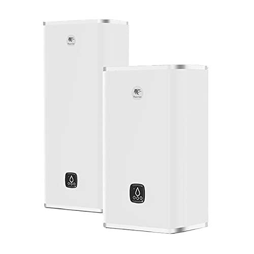 Chauffe-eau électrique Malicio 3 connecté Thermor - 2250W - Plat Multiposition - 80L - 3 personnes - Blanc