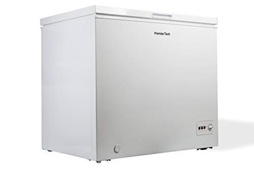 Premiertech Congelatore a Pozzetto 250 litri con cestello e ruote -24gradi A++ 4**** Stelle PT-CP250