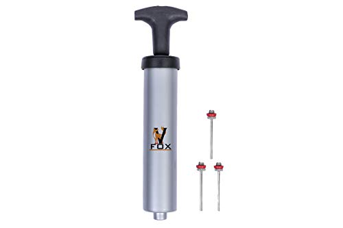 V FOX Hand Pump (Football Pump) Grey