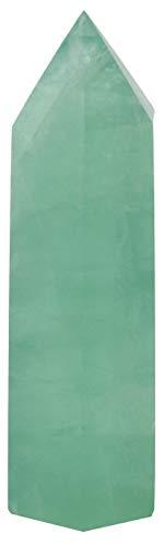 Luckeeper Healing Crystal Wands | 2' Green Fluorite Quartz...