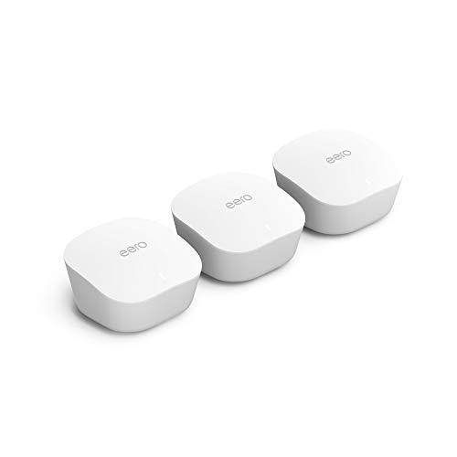 Presentamos el sistema wifi de malla Amazon eero: 3 unidades