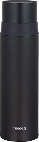 サーモス 水筒 ステンレススリムボトル マットブラック 500ml FFM-501 MTBK