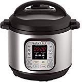 Instant Pot DUO60 6 Qt 7-in-1 Multi-Use Programmable Pressure Cooker, Slow Cooker, Rice Cooker, Steamer, Saut, Yogurt Maker and Warmer (Renewed)