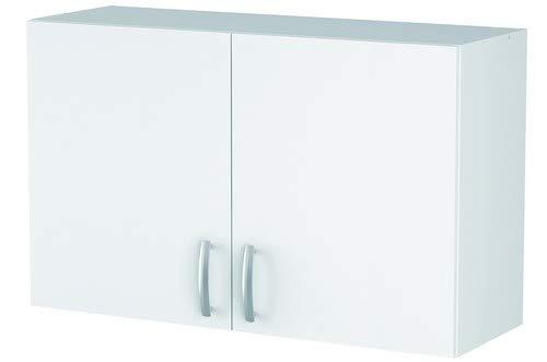 13Casa - Adri A1 - Pensile cucina. Dim: 100x28x60 h cm. Col: Bianco. Mat: Melamina.