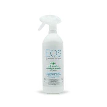 EOS (1 litre) Elimine instantanément les odeurs d'animaux domestiques. Anti-odeur pour tous types d'animaux (chiens, chats...) et applications (canapés, litières, lits) Nettoyeur d'urine enzymatique