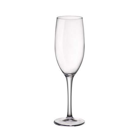 Confezione da 12 CALICI 17cl per Prosecco Spumante Flute da Champagne - Linea New KALIX