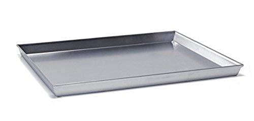 Ballarini 7044 - Teglia Rettangolare, Alluminio, Argento, 50 x 35 cm