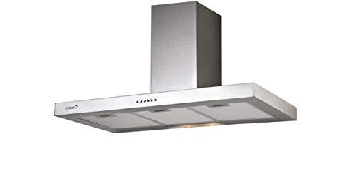 Cata | Cappa aspirante | Modello S 700 | Cappa da cucina decorativa da parete | 3 livelli di estrazione | Larghezza di 70 cm | Basso livello sonoro | Classe di efficienza energetica C