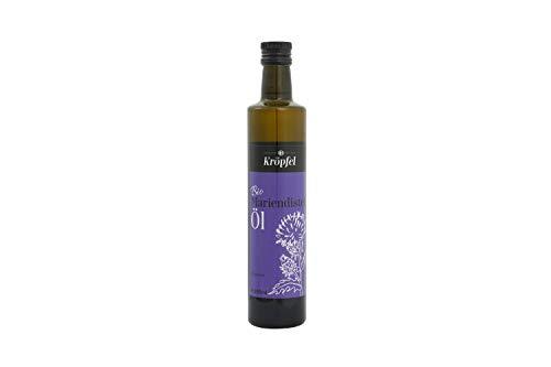 Kröpfel Mariendistelöl, kaltgepresst, nativ, 100% rein, Glasflasche, 500ml, A Qualität, aus Österreich