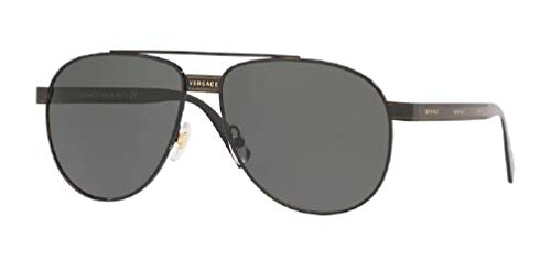 21k7mPZIfFL 💥Kit of 2 Items - Includes AUTHENTIC Versace VE2209 Sunglasses and FREE eyewear care kit 💥GREAT VALUE- FREE CLEANING KIT. Includes: a Designer iWear 1 ounce spray bottle, mirror, screw driver/key chain, and a folded microfiber cloth. 💥2 YEAR WARRANTY: Includes Manufacturer Warranty, cleaning cloth and case.