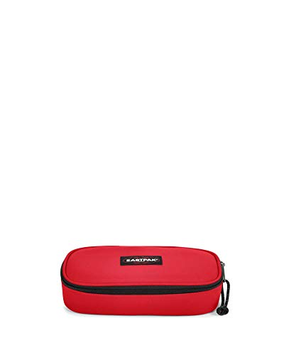 Eastpak Oval Single Astuccio, 22 cm, Rosso (Risky Red)