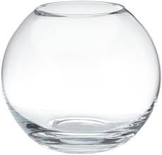 Oberstdorfer Glashütte Übergroße Kugelvase große klare XXXLGlaskugelvase Riesen Kristallglas Vase, mundgeblasen Höhe ca. 34 cm Durchmesser ca. 40 cm obere Öffnung ca. 21,5 cm