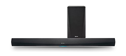 Denon HEOS HomeCinema - Barra de Sonido de 2.1 (wi-fi), Color Negro