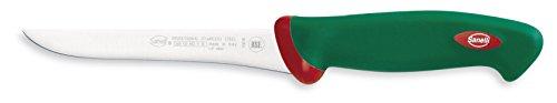 Sanelli Premana Professional Coltello Disosso Flessibile, Acciaio Inossidabile, Verde/Rosso,...