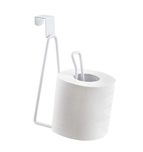 YININE Metal Toilet Paper Holder Stand, Over The Tank Toilet...