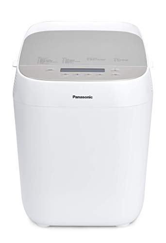 Panasonic SD-ZP2000WXE | Machine à pain Croustina, Pain croustillant, Programme sans gluten , Deux capteurs de température, 18 programmes , 3 tailles de Pain , 700 W, Blanc, – Version Française