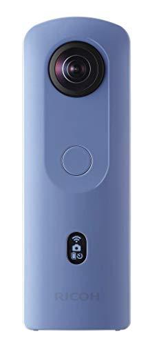 RICOH THETA SC2 BLUE 360Fotocamera 4K Video con stabilizzazione dell'immagine Alta qualit di trasferimento dati ad alta velocit Bella visione notturna ripresa con basso rumore