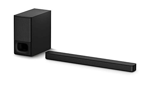 Sony HT-S350 Soundbar with Wireless Subwoofer: S350 2.1ch Sound Bar and Powerful Subwoofer - Home Theater Surround Sound Speaker System for TV - Bluetooth and HDMI Arc Compatible Bar