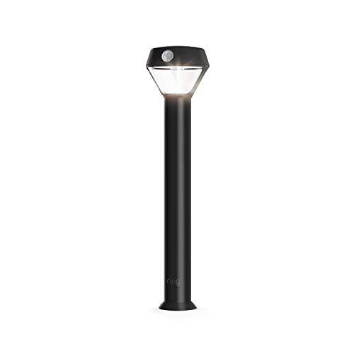 Introducing Ring Solar Pathlight  Outdoor Motion-Sensor Security Light, Black (Ring Bridge required)