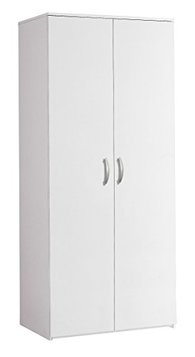 Klipick Armadio 2 Ante H. 175 cm. Dimensioni: L 81 P 52 Altezza 175. Colore Bianco. Oriana.